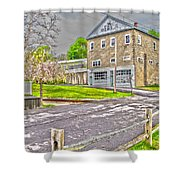 Cayuga Rail Crossing Shower Curtain