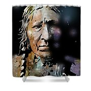 Cayuse Woman Shower Curtain
