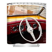 Chris Craft Custom Shower Curtain