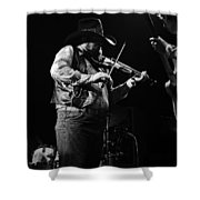Cdb Winterland 12-13-75 #10 Crop 2 Shower Curtain