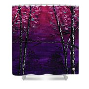 Cease Striving And Know Shower Curtain