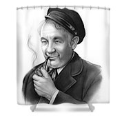 Cecil Kellaway Shower Curtain