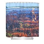 Cedar Breaks View Shower Curtain