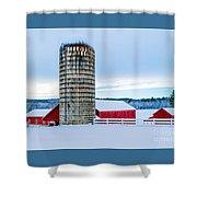 Cedar Brook Farm Shower Curtain