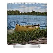 Cedar Canoe Shower Curtain