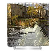Cedar Creek Dam Shower Curtain