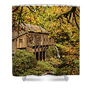 Cedar Creek Grist Mill Shower Curtain