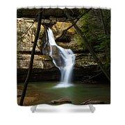 Cedar Falls - Hocking Hills Ohio Waterfall Shower Curtain