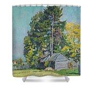 Cedars Shower Curtain