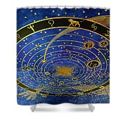 Ceiling Shower Curtain