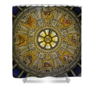 Ceiling Of The Berlin Cathedral Shower Curtain