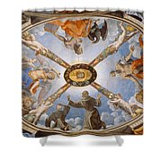 Ceiling Of The Chapel Of Eleonora Of Toledo Shower Curtain