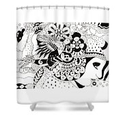 Ceilings And Floors 1 Shower Curtain