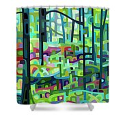 Celdaon Morning Shower Curtain