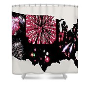 Celebrate America Shower Curtain