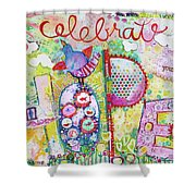 Celebrate Hope Shower Curtain