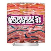 Celebrate Shower Curtain