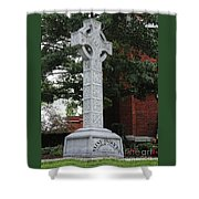 Celebrating The Celtic Heritage At St Patricks Church Shower Curtain