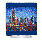 Celebration City Shower Curtain