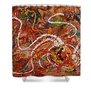 Celebration II Shower Curtain