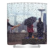 Celebration In Rain A036 Shower Curtain