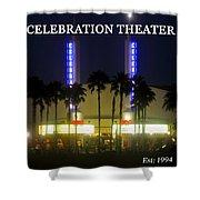 Celebration Movie Theater 1994 Shower Curtain