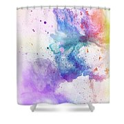 Celebration Of Colors  Shower Curtain