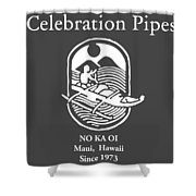 Celebration Pipes  Shower Curtain
