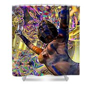 Celebration Spirit Shower Curtain