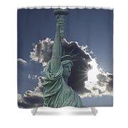 Celestial Crown Shower Curtain