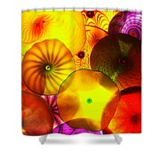 Celestial Glass 4 Shower Curtain