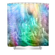 Celestial Light  Shower Curtain