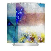 Celestial Navigation Shower Curtain