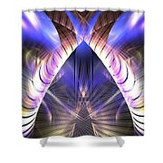 Celestial Portal Shower Curtain