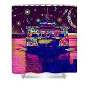 Celestial Sailing Shower Curtain
