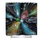 Celestial Vacuum Shower Curtain