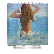 Celestrial Shower Curtain
