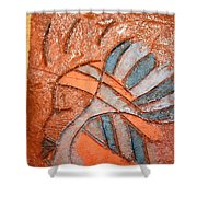 Celia - Tile Shower Curtain