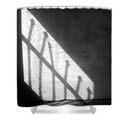 Cellbar Shadows Shower Curtain