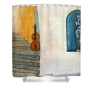 Cello No 2 Shower Curtain