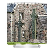 Celtic Crosses Shower Curtain