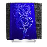 Celtic Design Shower Curtain