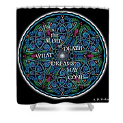 Celtic Dreamcatcher Shower Curtain