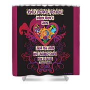 Celtic Eclipse Of The Heart Shower Curtain