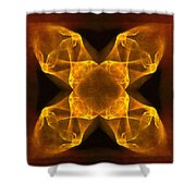 Celtic Gothica Shower Curtain