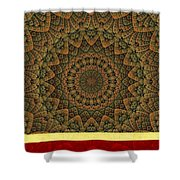 Celtic Hills Shower Curtain