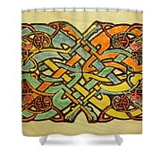 Celtic Knot 1 Shower Curtain