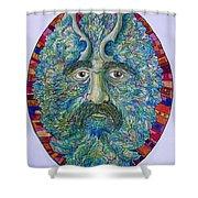 Celtic Man Shower Curtain