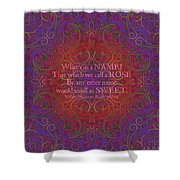 Celtic Romeo And Juliet Shower Curtain