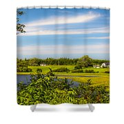Celtic Shores Coastal Trail Shower Curtain
